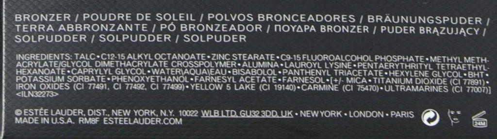 bronzeringredients